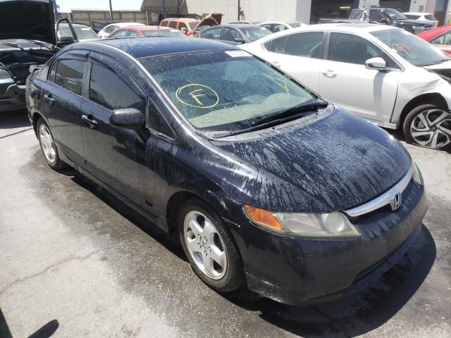 Salvage cars for sale from Copart Anthony, TX: 2006 Honda Civic LX