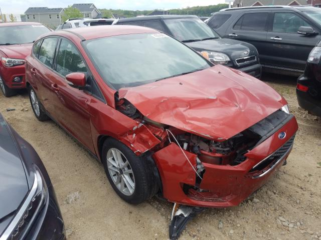 Salvage cars for sale from Copart Madison, WI: 2018 Ford Focus SE