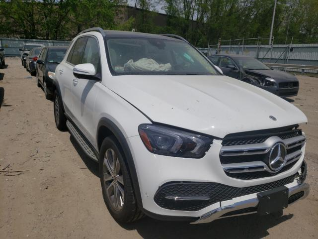Mercedes-Benz GLE 450 4M salvage cars for sale: 2021 Mercedes-Benz GLE 450 4M
