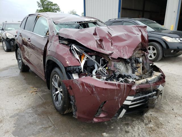 Salvage cars for sale from Copart Sikeston, MO: 2018 Toyota Highlander