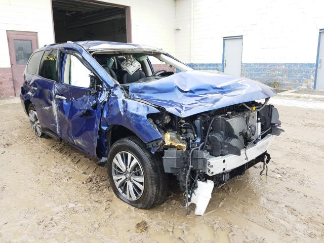 Salvage cars for sale at Indianapolis, IN auction: 2020 Nissan Pathfinder