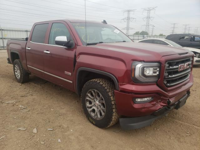 Salvage cars for sale from Copart Elgin, IL: 2016 GMC Sierra K15