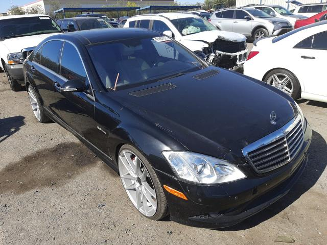 Salvage cars for sale from Copart Las Vegas, NV: 2009 Mercedes-Benz S 63 AMG