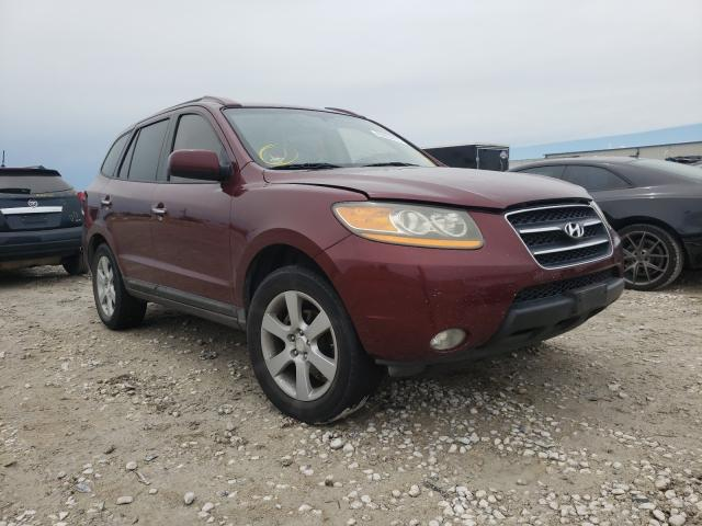 Salvage cars for sale from Copart Haslet, TX: 2009 Hyundai Santa FE S
