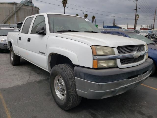 Salvage cars for sale from Copart Wilmington, CA: 2003 Chevrolet Silverado