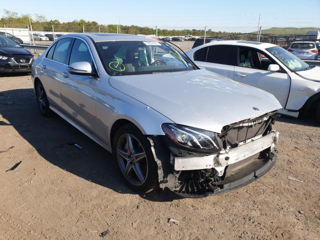 Salvage cars for sale from Copart Brookhaven, NY: 2017 Mercedes-Benz E 300 4matic