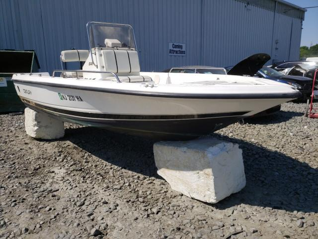 Salvage boats for sale at Windsor, NJ auction: 2000 Century Boat
