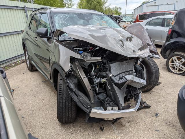 Salvage cars for sale from Copart Pekin, IL: 2021 Ford Explorer