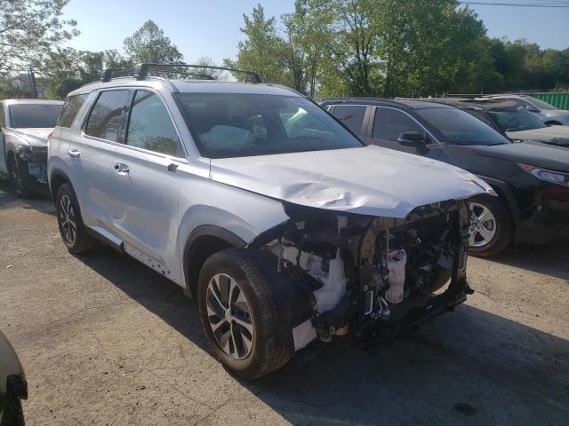 Salvage cars for sale from Copart Marlboro, NY: 2021 Hyundai Palisade S