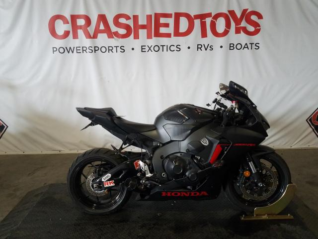 Salvage cars for sale from Copart Colton, CA: 2018 Honda CBR1000 RR