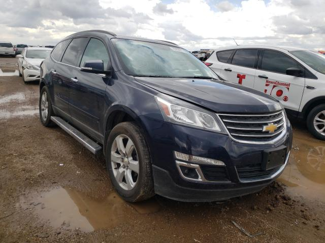 Salvage cars for sale from Copart Amarillo, TX: 2016 Chevrolet Traverse L