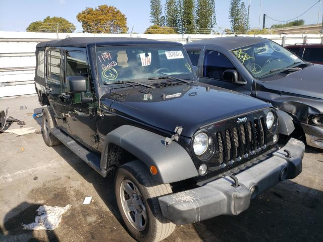 Salvage cars for sale from Copart Miami, FL: 2016 Jeep Wrangler U