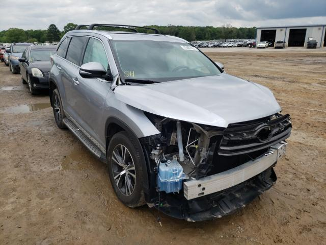 Salvage cars for sale from Copart Conway, AR: 2016 Toyota Highlander