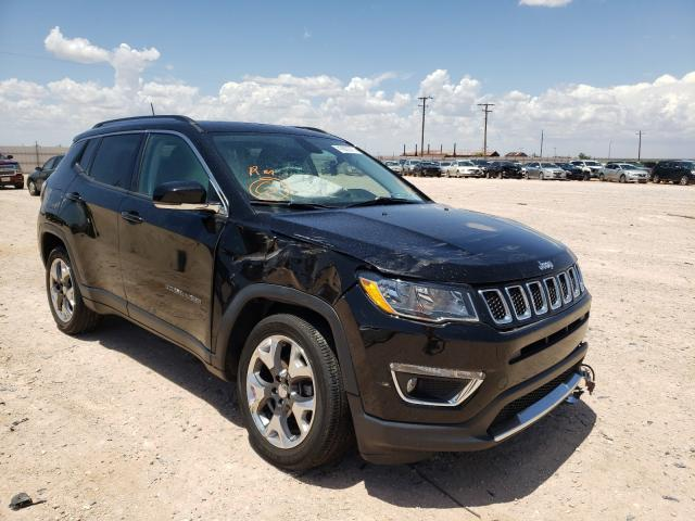 Salvage cars for sale from Copart Andrews, TX: 2018 Jeep Compass LI