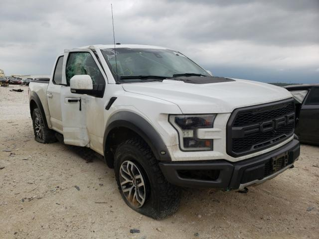 Salvage cars for sale from Copart New Braunfels, TX: 2018 Ford F150 Rapto