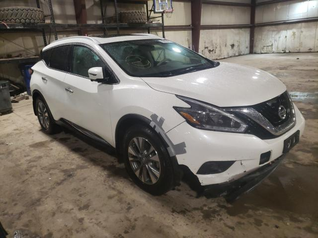 Salvage cars for sale from Copart Eldridge, IA: 2018 Nissan Murano S