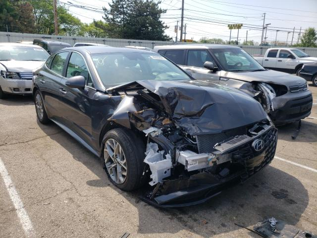 Salvage cars for sale at Moraine, OH auction: 2020 Hyundai Sonata SEL