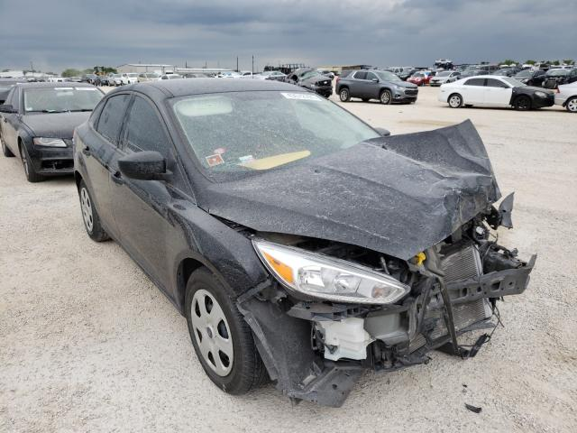 Salvage cars for sale from Copart San Antonio, TX: 2017 Ford Focus S