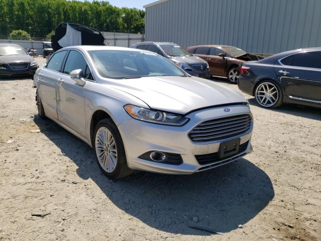 Salvage cars for sale from Copart Hampton, VA: 2015 Ford Fusion SE