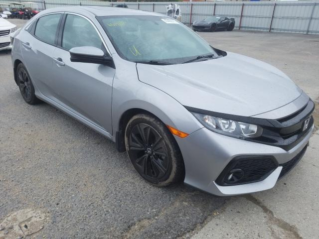 Salvage cars for sale from Copart New Orleans, LA: 2018 Honda Civic EX