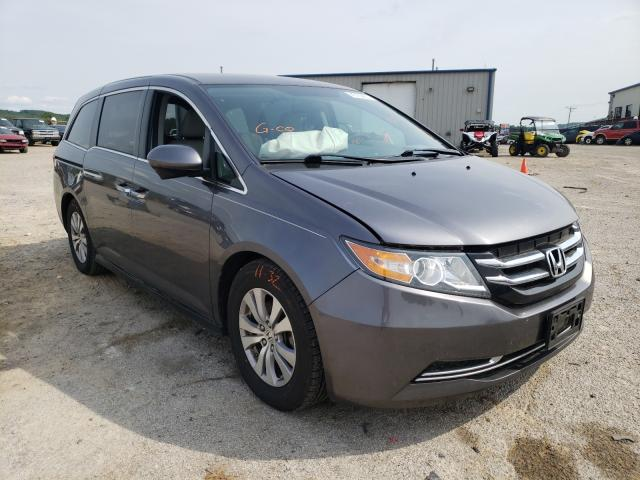 Salvage cars for sale from Copart Chatham, VA: 2016 Honda Odyssey SE