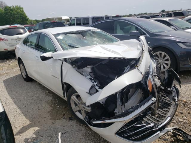 Salvage cars for sale from Copart Grand Prairie, TX: 2020 Chevrolet Malibu LS