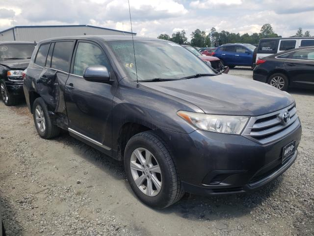 Salvage cars for sale from Copart Spartanburg, SC: 2012 Toyota Highlander
