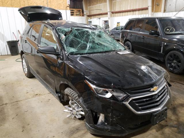 Salvage cars for sale from Copart Anchorage, AK: 2020 Chevrolet Equinox LS