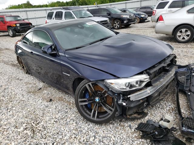 BMW M4 salvage cars for sale: 2016 BMW M4
