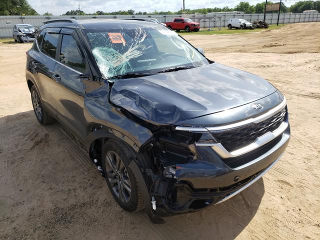 Salvage cars for sale from Copart Newton, AL: 2021 KIA Seltos S