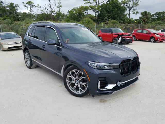 Salvage cars for sale from Copart Fort Pierce, FL: 2020 BMW X7 XDRIVE4