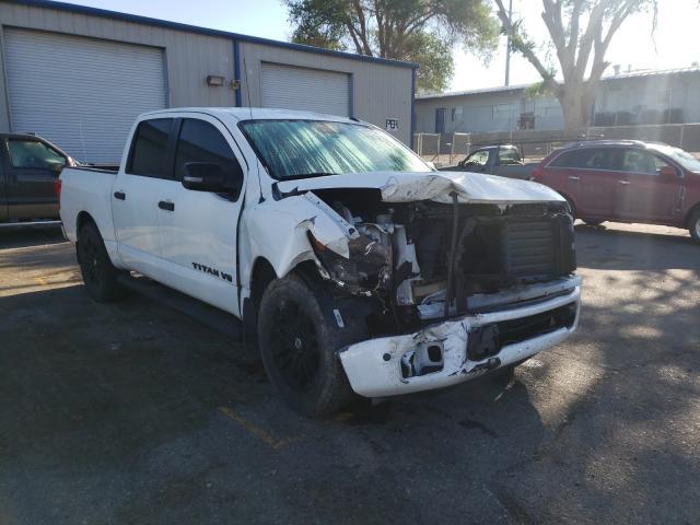 Salvage cars for sale from Copart Albuquerque, NM: 2019 Nissan Titan Platinum