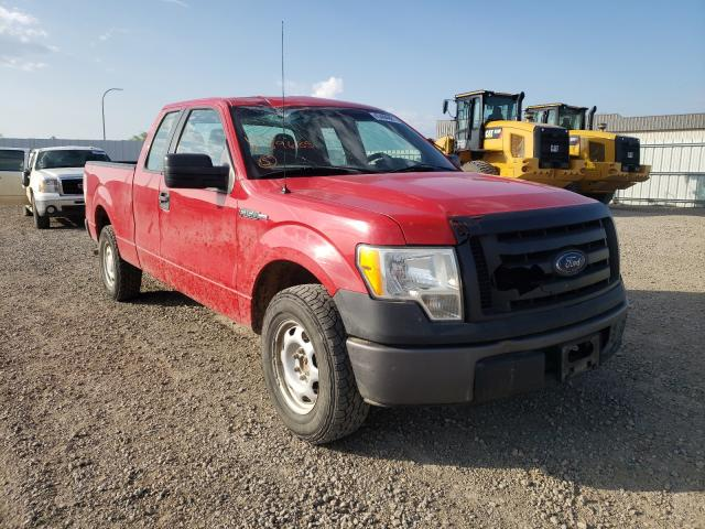 Salvage cars for sale from Copart Bismarck, ND: 2010 Ford F150 Super