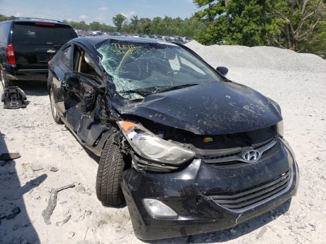 Hyundai Elantra salvage cars for sale: 2012 Hyundai Elantra