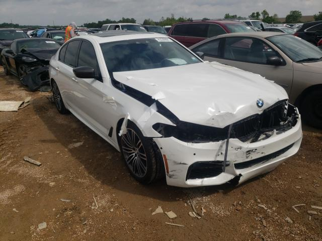 Salvage cars for sale from Copart Bridgeton, MO: 2017 BMW 540 XI