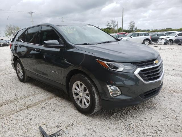 Salvage cars for sale at Homestead, FL auction: 2020 Chevrolet Equinox LT