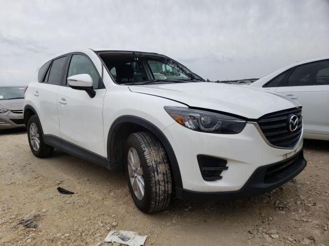 Salvage cars for sale from Copart New Braunfels, TX: 2016 Mazda CX-5 Touring
