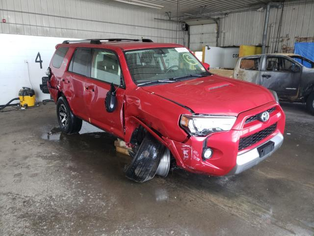 2017 Toyota 4runner SR en venta en Candia, NH