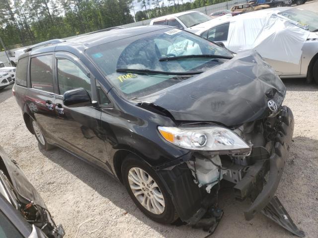 Carros salvage para piezas a la venta en subasta: 2015 Toyota Sienna XLE