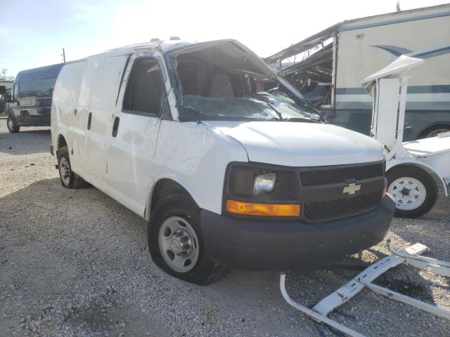Salvage trucks for sale at Apopka, FL auction: 2010 Chevrolet Express G2