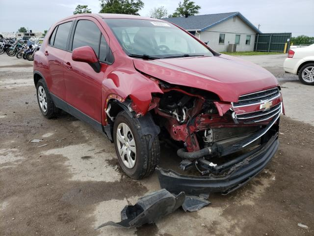 Salvage cars for sale from Copart Sikeston, MO: 2015 Chevrolet Trax LS