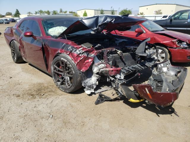 Salvage cars for sale from Copart Bakersfield, CA: 2019 Dodge Challenger