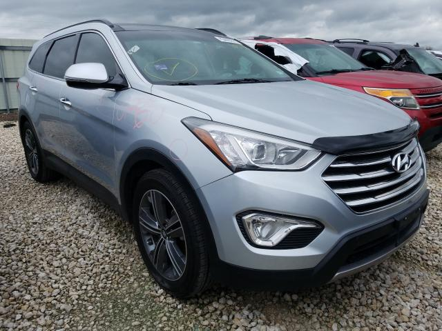 Salvage cars for sale from Copart New Braunfels, TX: 2016 Hyundai Santa FE S