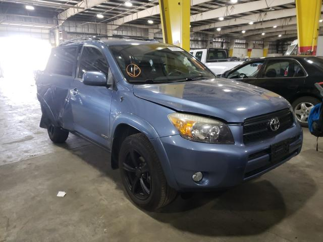 Salvage cars for sale from Copart Woodburn, OR: 2008 Toyota Rav4 Sport