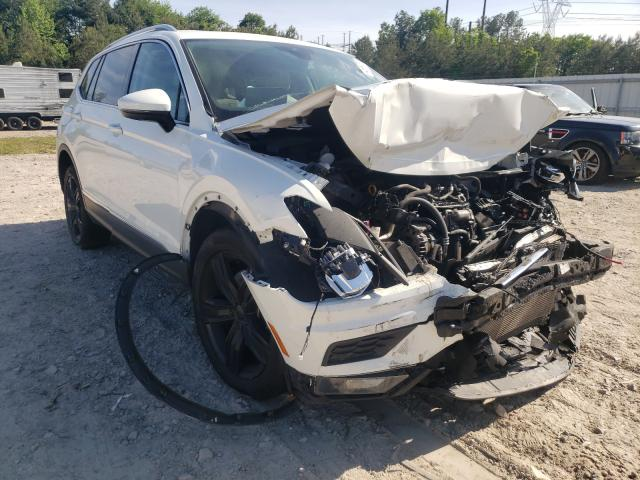 Salvage cars for sale from Copart Charles City, VA: 2018 Volkswagen Tiguan SEL
