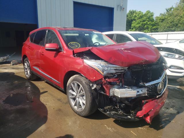 Salvage cars for sale from Copart Glassboro, NJ: 2020 Acura RDX Techno