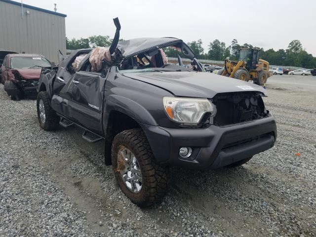 Salvage cars for sale from Copart Spartanburg, SC: 2013 Toyota Tacoma DOU