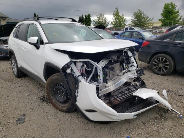 Salvage cars for sale from Copart Eugene, OR: 2021 Toyota Rav4 LE