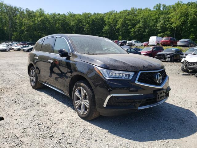 Salvage cars for sale from Copart Finksburg, MD: 2019 Acura MDX