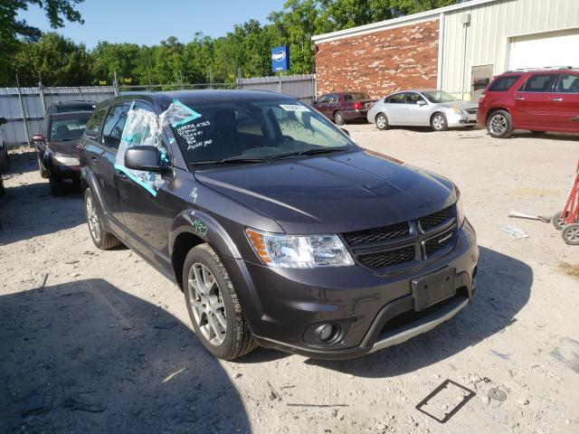 Salvage cars for sale from Copart Hampton, VA: 2018 Dodge Journey GT
